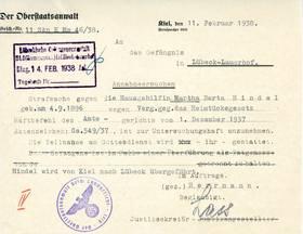 Schreiben der Oberstaatsanwaltschaft Kiel [2]