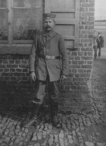 Wilhelm Krohn in military uniform [2]