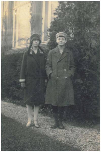 Johanna Stern and Walter Strauß.  From the family's private collection