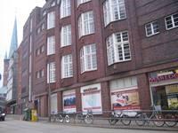 In der Schmiedestraße 4/6 betrieb Heinrich van Loo die Juno-Bar. Foto Susanne Schledt 2009