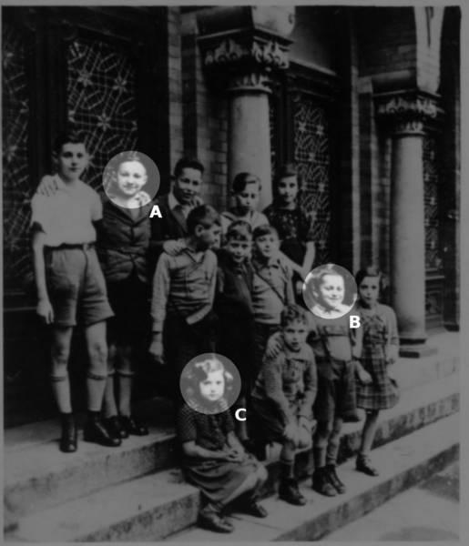 Jewish religious school, 1938