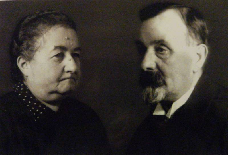 Ida and Siegmund Cohn, the family's private collection.