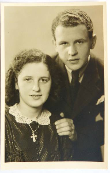 Erich and Helga Dieber 1942, from the family's private estate