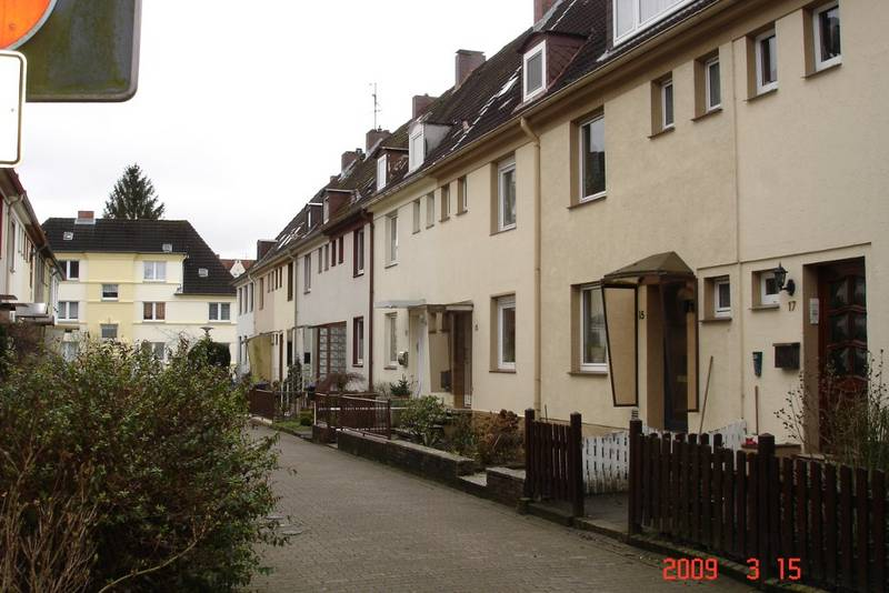 Altengammer Straße today, Photo: 2009, Heidemarie Kugler-Weiemann