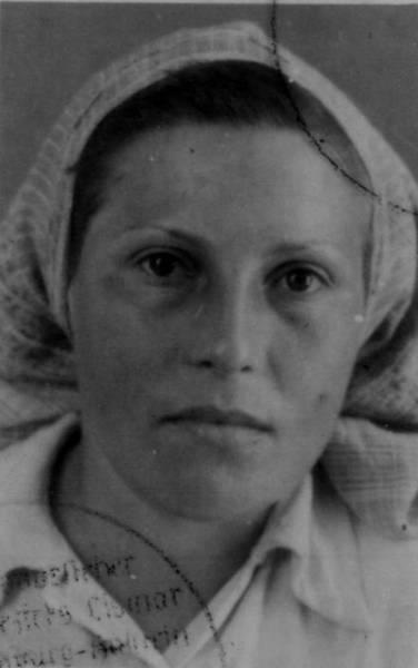 Erika Kendziorek 1945