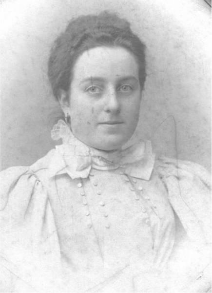 Friederike Würzburg, geb. Hirsch: Familienarchiv Dennis Wiener