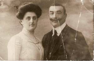 Selma und David Isaac, Familienbesitz Howard Isaac