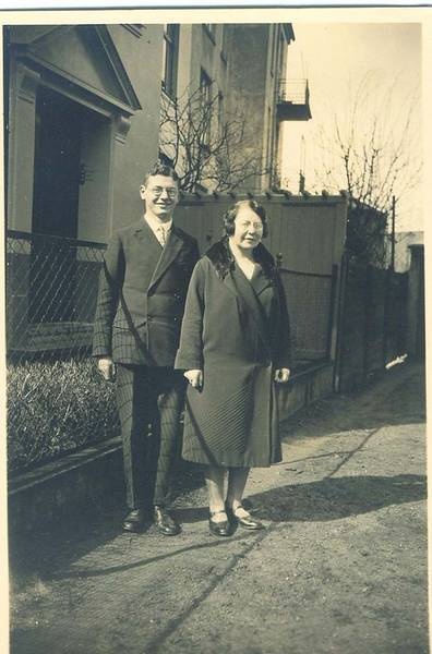 Elsa und Walter Strauß, from the family's private collection.