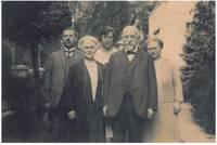Familienbild Dr. Max Stern, Johanna, Sofie Stern, Rebecca und Ferdinand Stern, Familienbesitz