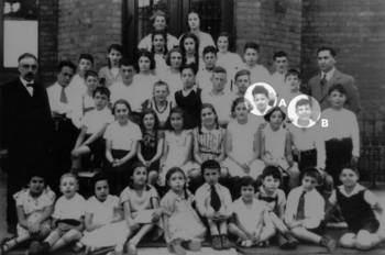 Pupils of the Jewish Religious School Lübeck, 1935