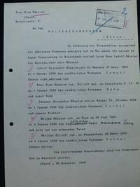 Annahme der Zwangsvornamen, Archiv der Hansestadt Lübeck, Staatliche Polizeiverwaltung 124
