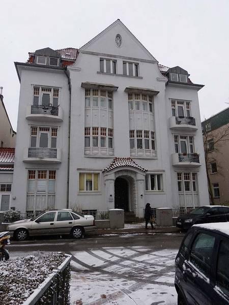 Wakenitzstraße 8 im Januar 2013, Aufnahme Heidemarie Kugler-Weiemann