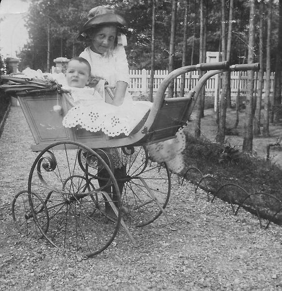 Morris und Gertrude Wiener ca. 1912/1913: Familienarchiv Dennis Wiener