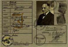 Reisepass von Edmund Wiener, ausgestellt im Dezember 1938: Familienarchiv Dennis Wiener