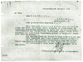 Todesnachricht aus Auschwitz [14]