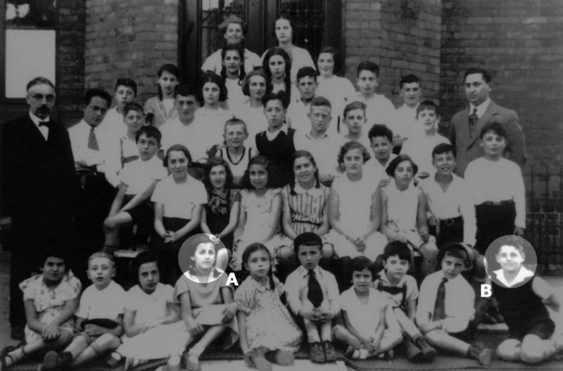 Students of the Jewish Religious School