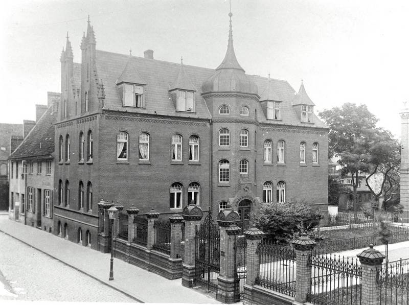 The Jewish Seniors' Home, Annen-Straße 11, undated photo from the collection of Museum for Art and History of Culture of the Hanseatic City of Lübeck
