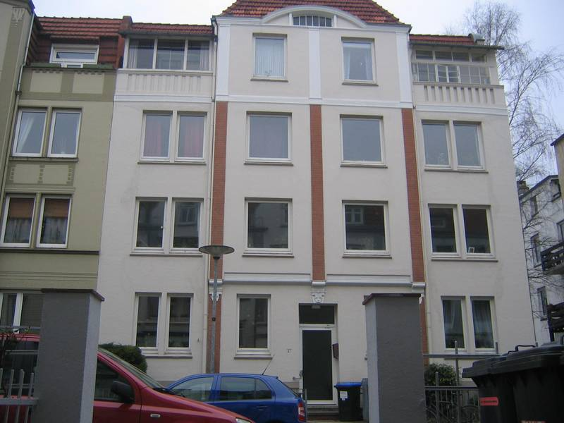 Morkerkestraße 17 is where Heinrich van Loo lived. Photo Susanne Schledt 2009