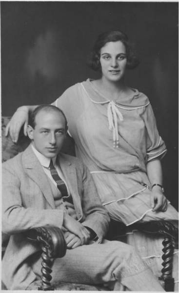 Julius Wagner and Hilda Wagner, nee Wiener: Archive of the Dennis Wiener Family