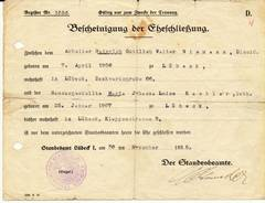 Marriage Certificate [2]