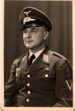 Curt Dieber in Uniform, Familienbesitz