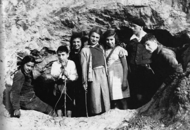 Die zionistische Jugendgruppe