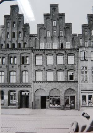 An early photo of Beckergrube 71, Museum für Kunst und Kulturgeschichte
